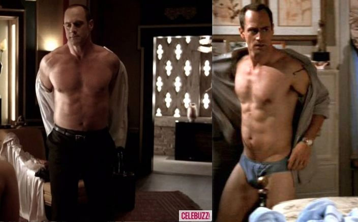 licking-own-christopher-meloni-naked-cock-trash