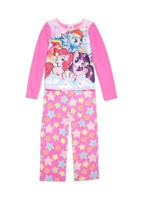 Disney  2-Piece My Little Pony Pajama Set Girls 4-16