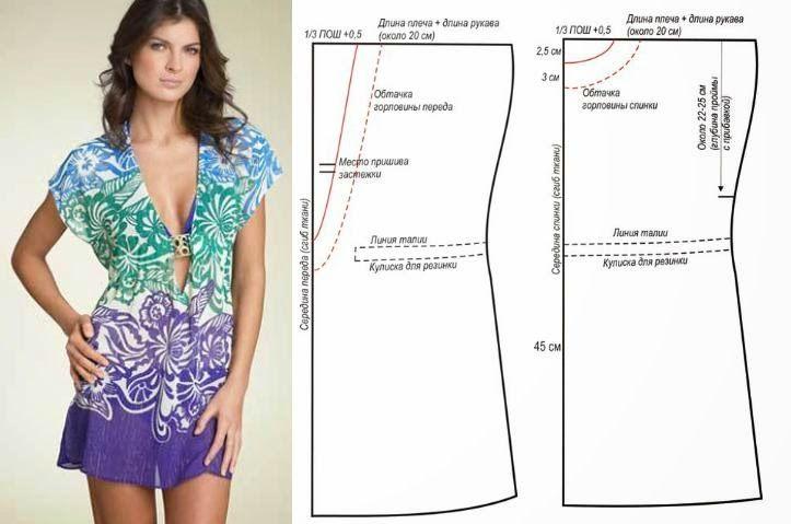 Moda e Dicas de Costura: VESTIDO FÁCIL DE COSTURAR