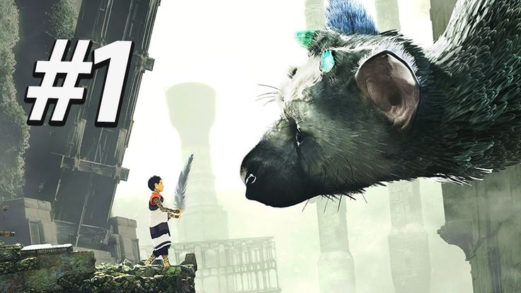 WAITED 6 YEARS TO PLAY THIS (PewDiePie plays The Last Guardian) https://www.youtube.com/watch?v=QLzUWJ0zk5M?t=1m23s