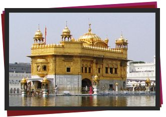 The Golden Temple is the principal shrine of Sikhism. It is surrounded by the sacred Amrita Saras (Pool of Immortality), in which the pilgrims bathe to become spiritually purified. There are four doors to get into the Harmandir Sahib, which symbolize the openness of the Sikhs towards all people and religions. The present day Gurdwara was rebuilt in 1764 by Jassa Singh Ahluwalia with the help of other Sikh Misls.