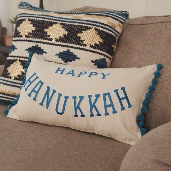 3 Hanukkah Decorating Ideas