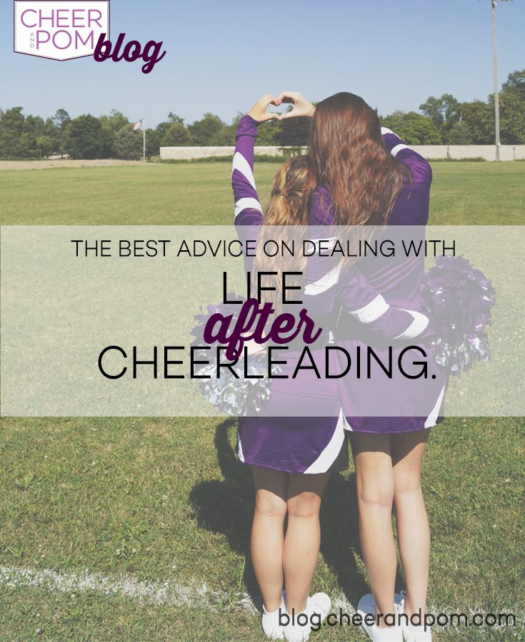 Life after cheerleading?? What is that? Cheerleading is our whole world. But what happens after it ends, what is after high school graduation with no cheerleading practice, football games, and competitions? Cheer and Pom Blog out our blog for advice from real cheerleaders on how to move on!