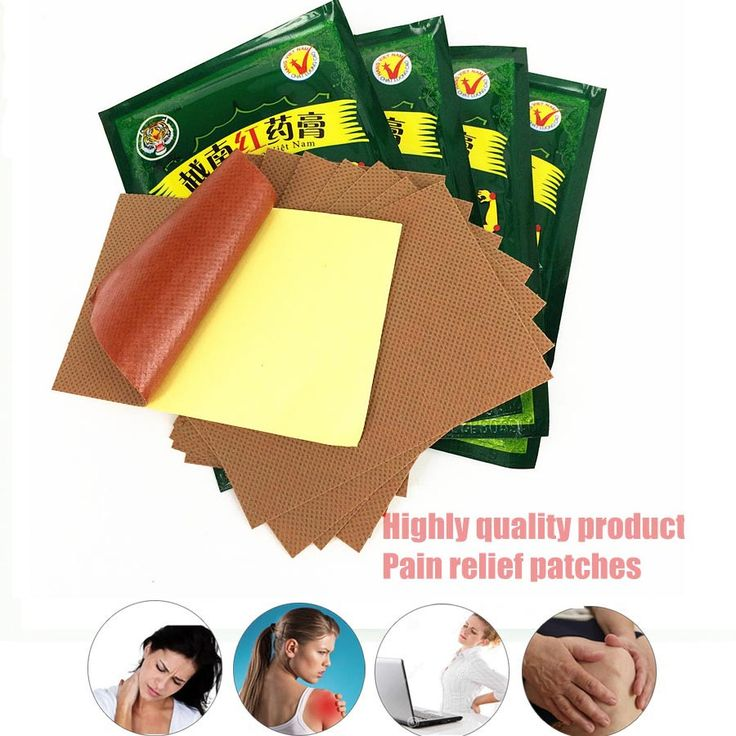 Red Tiger balm Vietnam Plaster 24pcs/3bags zb pain patch for Muscular Pain Stiff Shoulders Pain Relieving Patch Relief 7cm*10cm