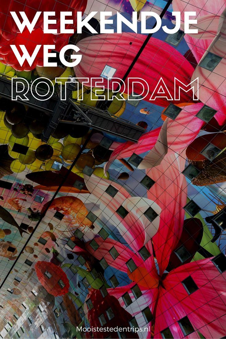 Zin in een weekendje weg? Zet Rotterdam op je lijstje! Je vindt geweldige bezienswaardigheden, musea, winkels en wijkjes in Rotterdam. Het ontdekken waard | Mooistestedentrips.nl