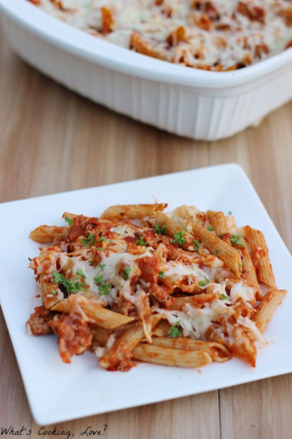 Baked Penne - Whats Cooking Love?