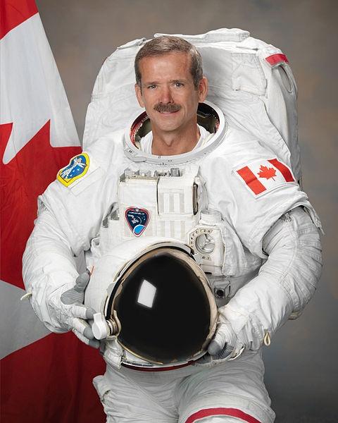 Commander Chris Hadfield Born in Sarnia Ontario