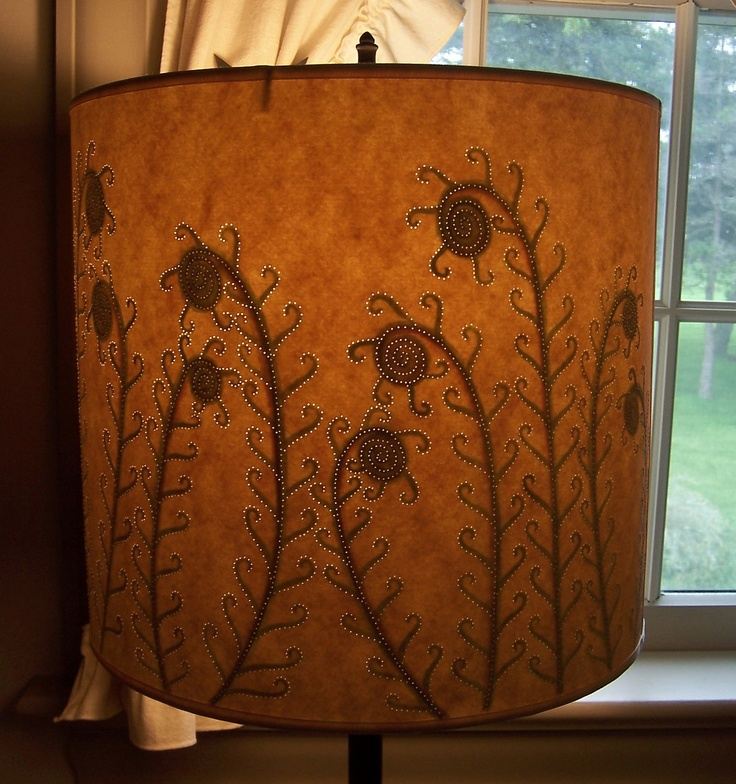 18 best painted lamp shades images on pinterest lampshades lamp fiddlehead reverse painted drum lamp shade mozeypictures Images