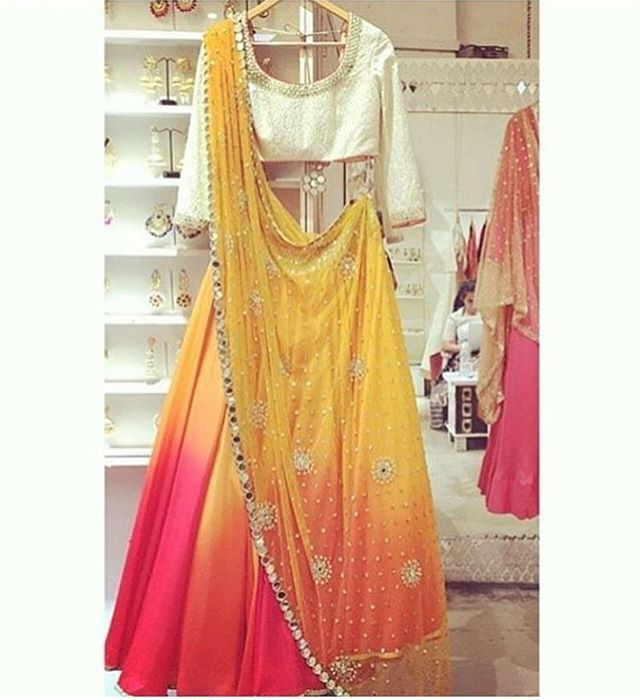 WEBSTA @ creativecraft77 - for order price and details watsapp on  91 95-99-407247 or dm on insta!!#creativecraft #redgoldengown #indianweddings #gownsandcrowns #asianweddings #indianbrides #designergown #loveforpink #bridallengha #bridsmaid #indianwedding #handembroidary #mendhilengha