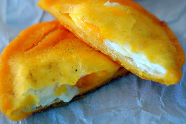 Try this egg-stuffed arepa recipe and you'll see why they're so popular in Colombia. The seasoned fried dough with the fried egg is really, really good!