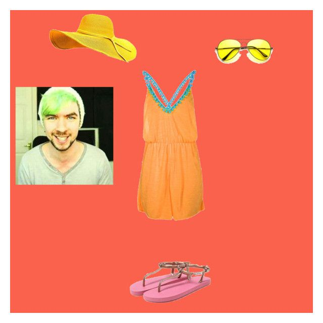 """""""Beach date (Sophie's beach outfit)"""" by ockoogle ❤ liked on Polyvore featuring ZeroUV and Boohoo"""