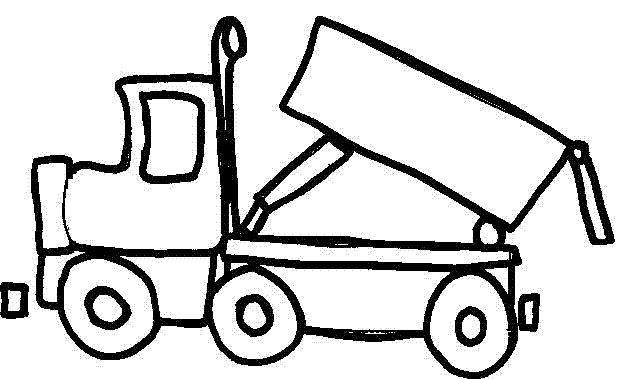 Résultat De Recherche Dimages Pour Coloriage Camion