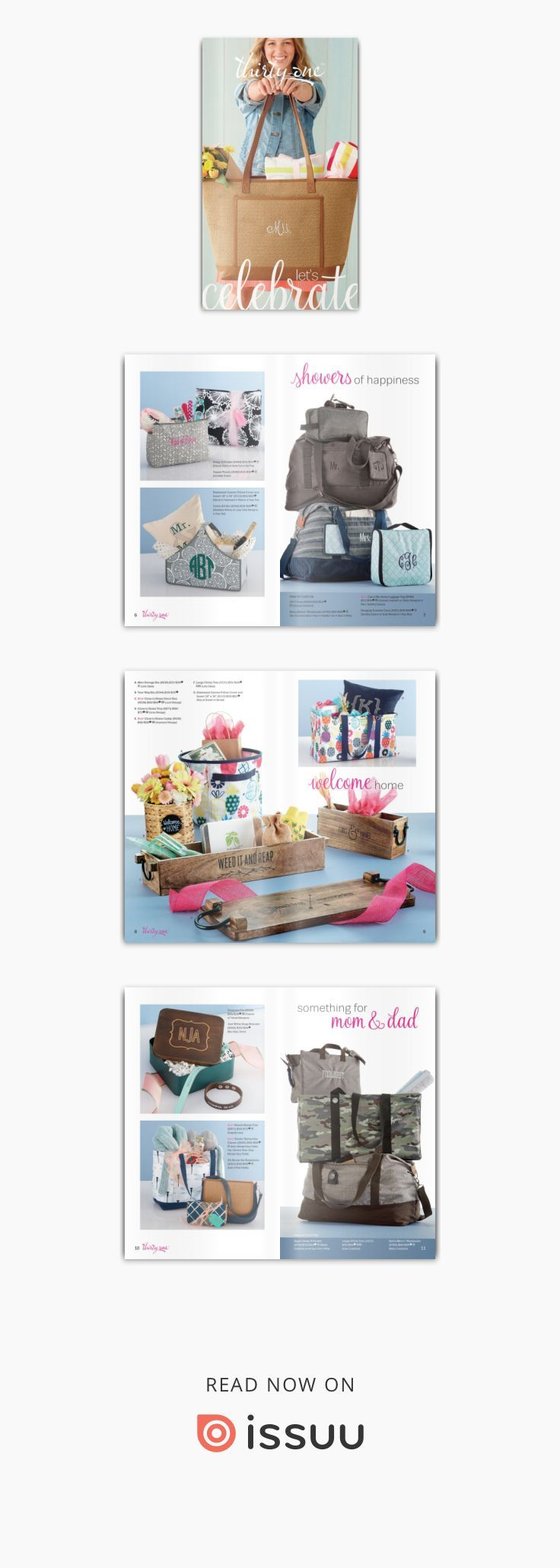 Mini Catalogue: Celebration To order visit www.mythirtyone.ca/2612702