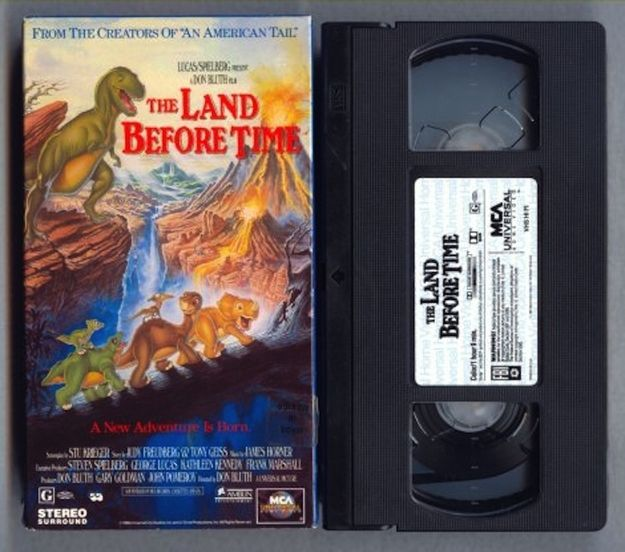 The Land Before Time | 35 VHS Movies Every Kid Watched Growing Up