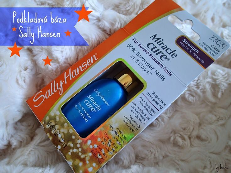 Nicka The Beauty Hunter: Miracle Cure by Sally Hansen Review
