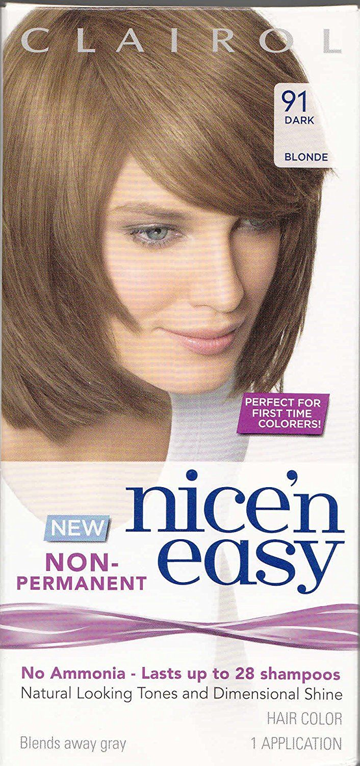 Nice 'n Easy Non-Permanent Hair Color 91 Dark Blonde (Pack of 3) * Click image to review more details.