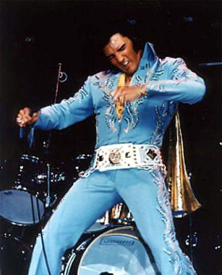 """#12. Elvis recorded  15 songs with the word """"BLUE"""" in the title"""