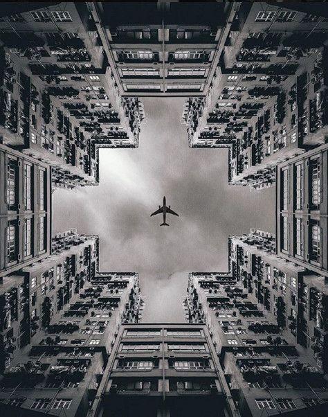 Hong Kong. Image © @andreknot [IG] | La belleza de la simetría en 12 fotografías