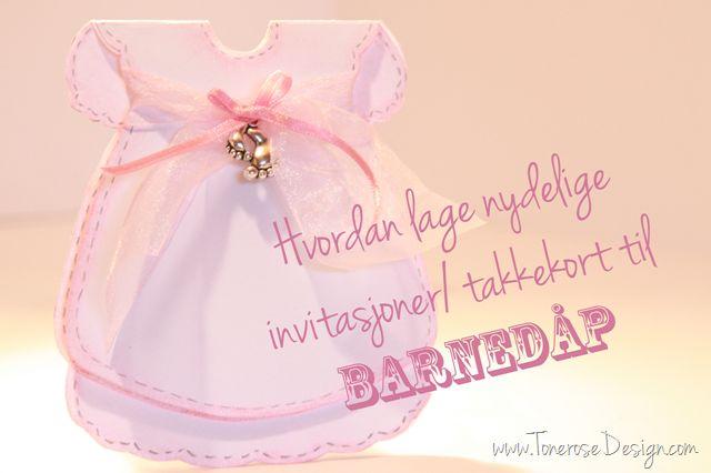 Free template cute dress - card. Supersøte til barnedåp feks! Søte kjolekort du enkelt lager selv, diy på bloggen