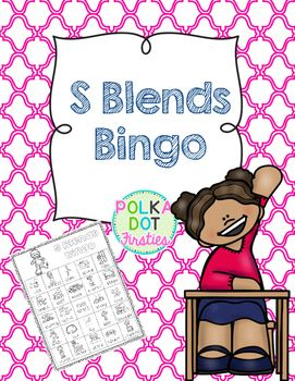 S Blends Bingo is a fun way to have students practice reading s blends.  There are 4 different S blends bingo templates in this packet. A picture is included for each word. S blends include sc, sk, sl, sm, sn, st.Directions and word list are included.