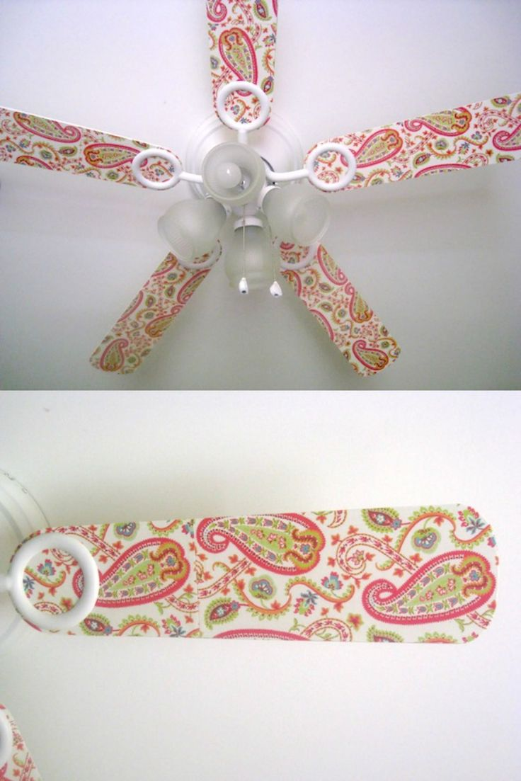 Yes, even a ceiling fan can be decoupaged