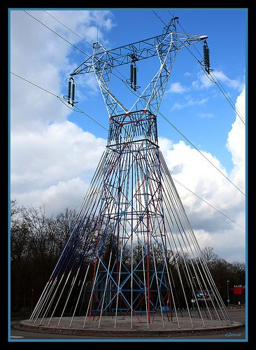 Best Electricity Pylons Images On Pinterest Art Projects - Architects turn icelands electricity pylons into giant human statues