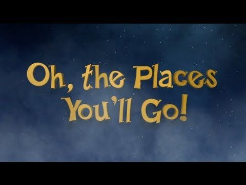 """""""Oh the places you'll go,"""" the Dr. Seuss book told by the beautiful souls at Burning Man.  Watch this before work on a morning when you're in a slump.  I dare you to be in a slump when you're done."""