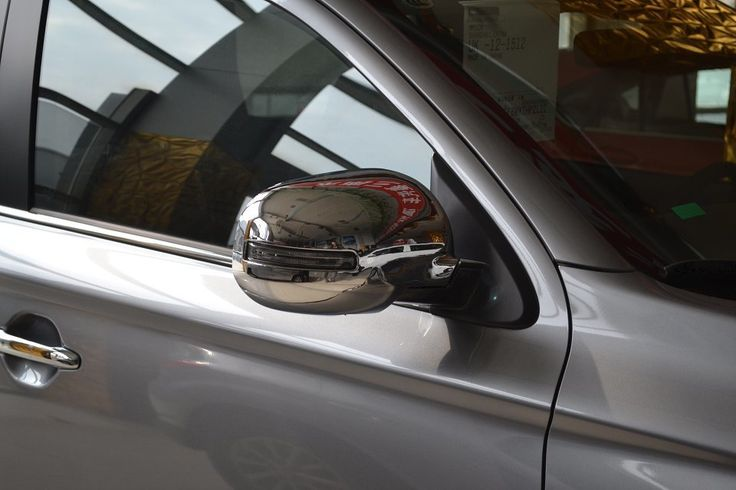 Find More Stickers Information about 2PC  ABS  Backing mirror cover  For  Mitsubishi  Outlander 2013,High Quality mirror pendant,China cover requirements Suppliers, Cheap cover saddle from PaiKoo Company on Aliexpress.com