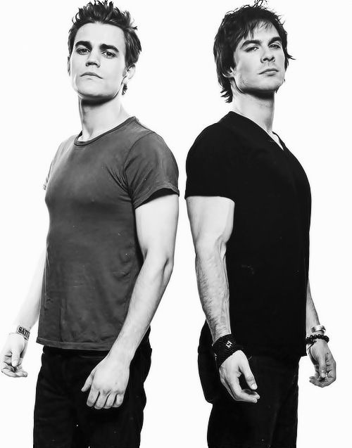 Paul Wesley and Ian Somerhalder