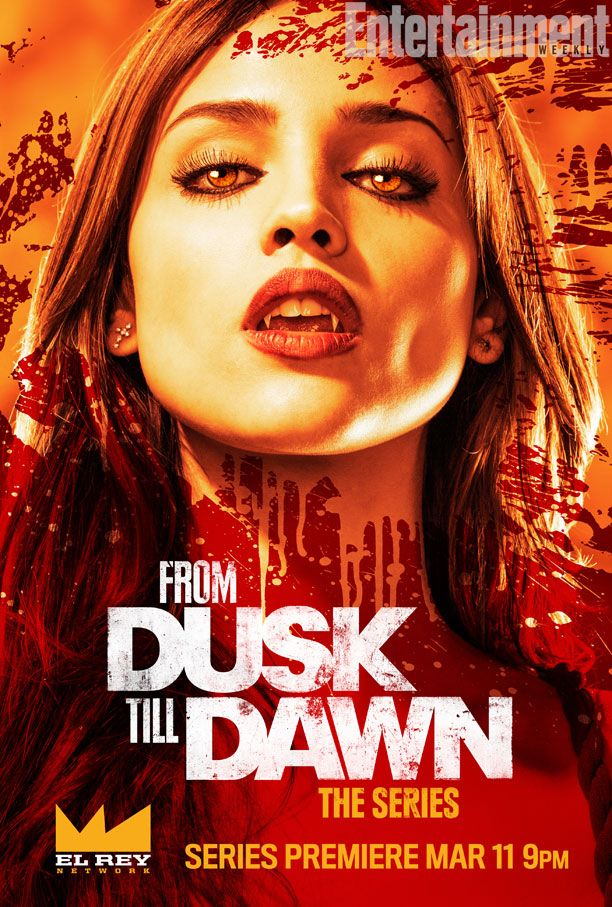 From Dusk Till Dawn Series Poster Gets My Blood Pumping.