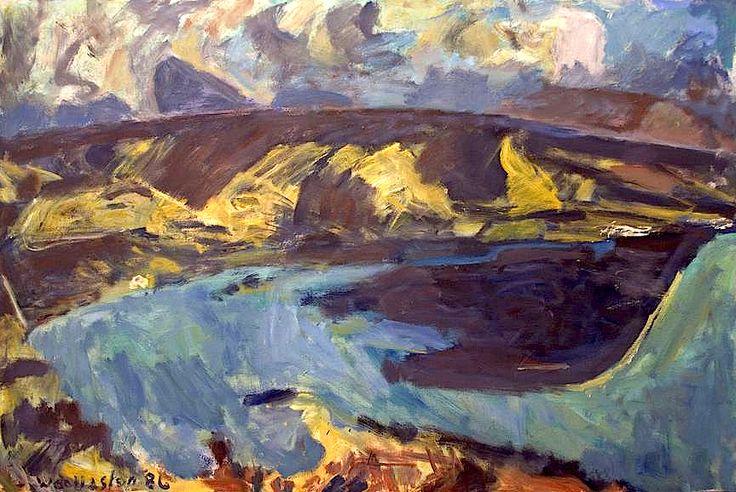 Mountford Tosswill (Toss) Woollaston (1910-98) New Zealand - Devil's Thumb, Nelson