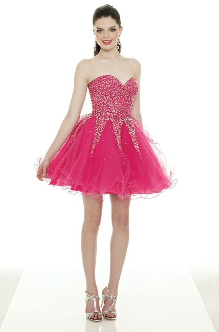 11 best Vestidos cortos rosas - Little pink dresses images on ...