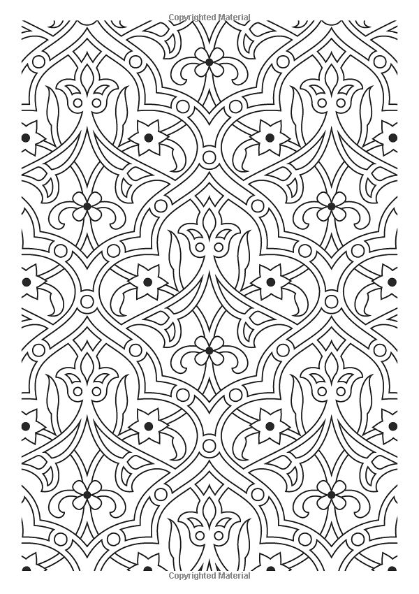 617 best örnek desenler images on Pinterest | Arabesque, Stencil and ...