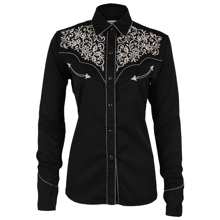 Shyanne® Women's Vintage Embroidered Western Shirt