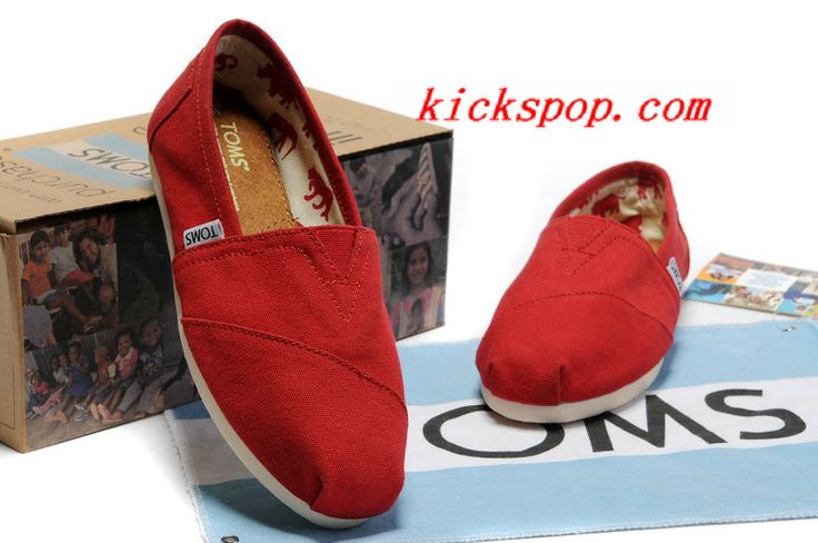 fd55fa7b99a02 Toms Classic Shoes Womens Red Canvas   Toms Outlet Online,Cheap Toms shoes,  Toms outlet store online,which provide best toms shoes online.