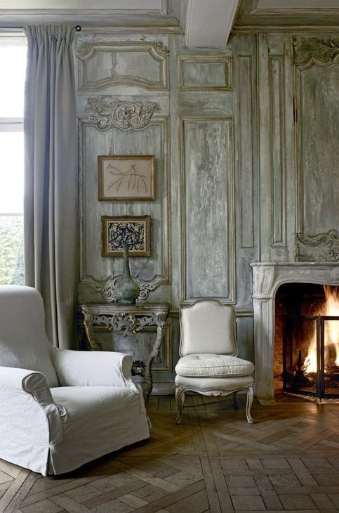 1000 images about french apartments homes on pinterest for Modern french country interior design