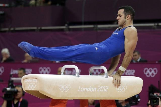 Danell Leyva's fight for bronze - Gymnastics Slideshows | NBC Olympics