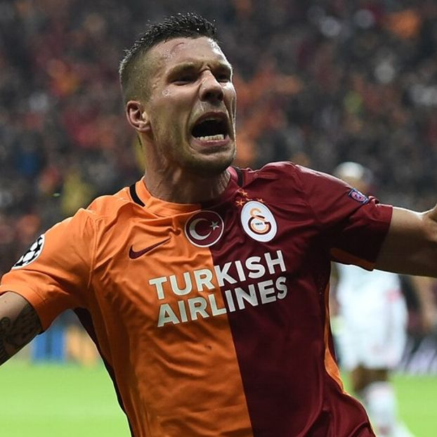 Lukas #Podolski #Galatasaray
