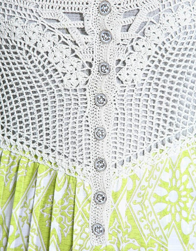 Crocheted bodice: Crochet Blankets, Para Hook, Crochet Dresses, Dresses Tops, Crochet Customi, Crochet Ou, Great Ideas, Crochet Knits