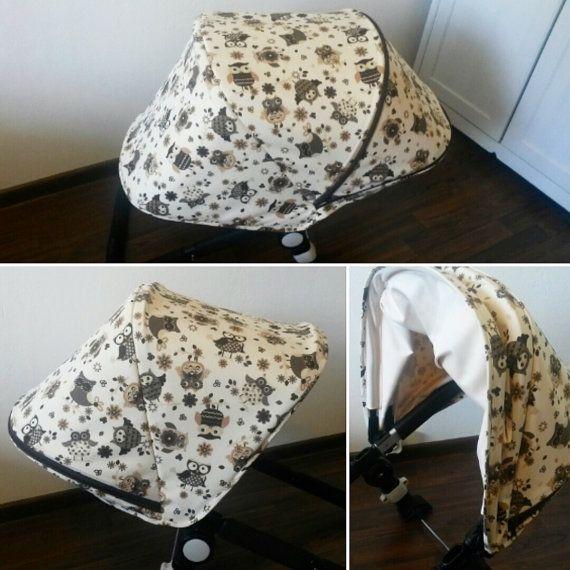 Custom extendable canopy hood for Bugaboo Cameleon Donkey Buffalo