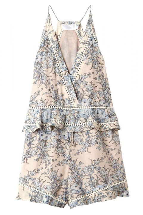 An easy, breezy all-in-one is your sartorial solution for run-around casual wear that still looks chic. Zimmermann romper, $415, shopBAZAAR.com.