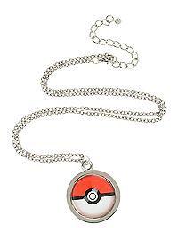 HOTTOPIC.COM - Pokemon Poke Ball Necklace