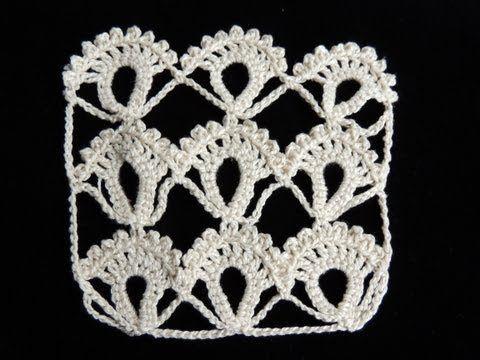Punto Fantasia # 3 en Crochet
