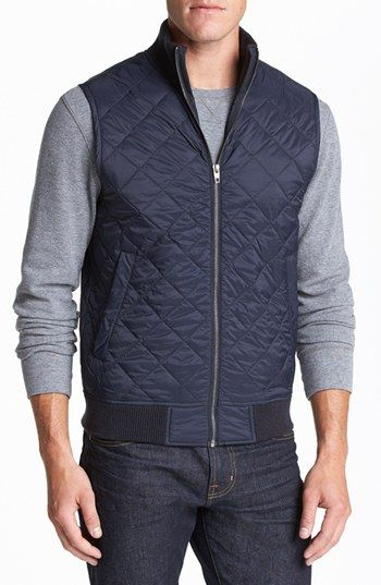 French Connection 'Marine' Quilted Vest