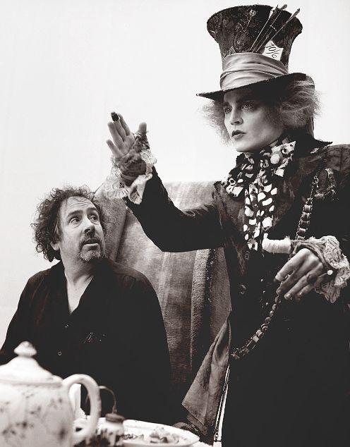 Mad Hatter (Johnny Depp) & Tim Burton, Alice in Wonderland (2010)