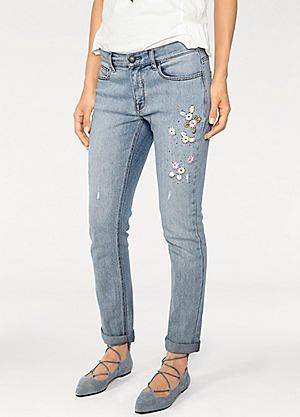 Heine Linea Tesini Boyfriend Jeans #kaleidoscope #denim