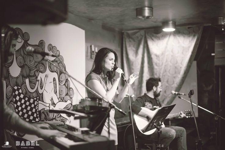 Βάσια Δανιά live @ Βαβέλ Πυρήνας Τέχνης (20/1/2017) με Μάριο Λαζ Ιωαννίδη (κιθάρα) και Δημήτρη Καζάνη (βιολί & πλήκτρα) Photo Credits: George Stergiou - Still and Motion Photography