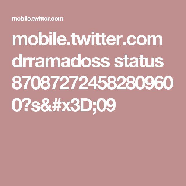 mobile.twitter.com drramadoss status 870872724582809600?s=09