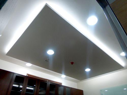 Adecuación oficina secretaria general UCE - cielos rasos, iluminación