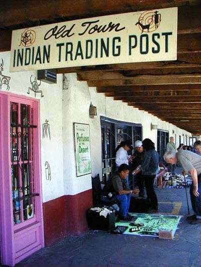 Albuquerque, NM---you must go to Old Town just to look around, shop, and see what there is to see